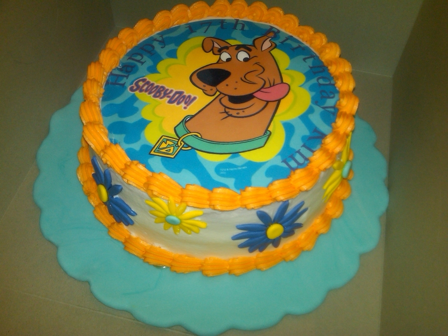 Scooby Birthday Cake on Cake Central