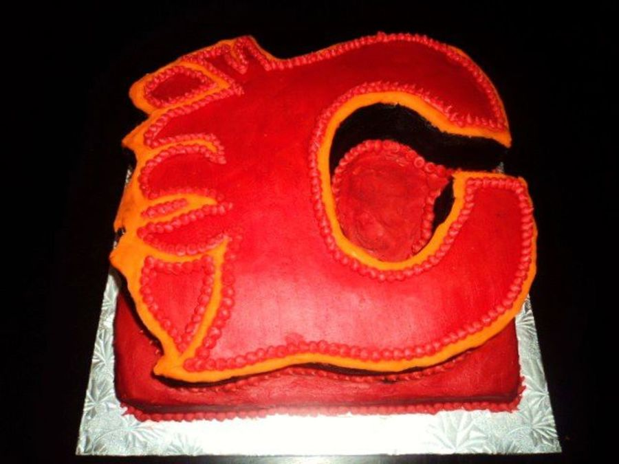 Calgary Flames on Cake Central