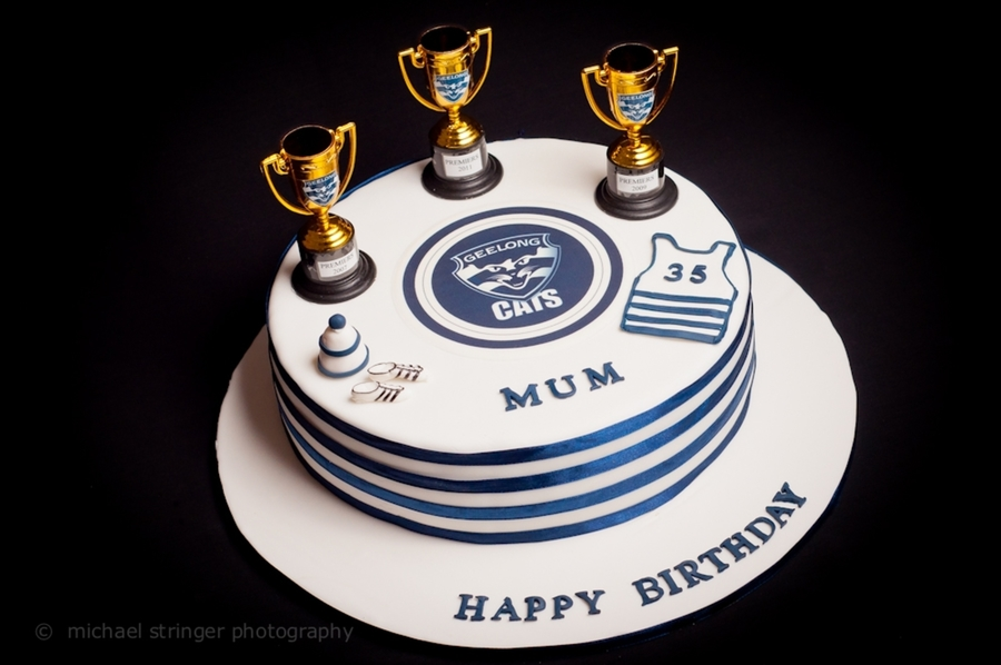 Afl Geelong Cake on Cake Central