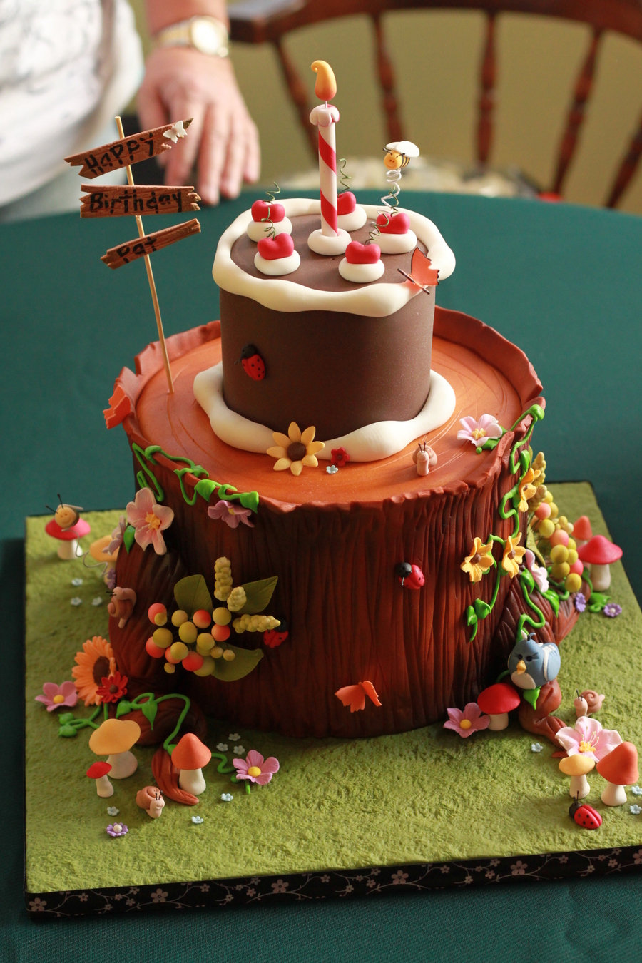 Birthday Cake For A Nature Lover on Cake Central