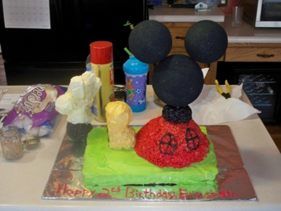 Mickey Mouse Club House on Cake Central