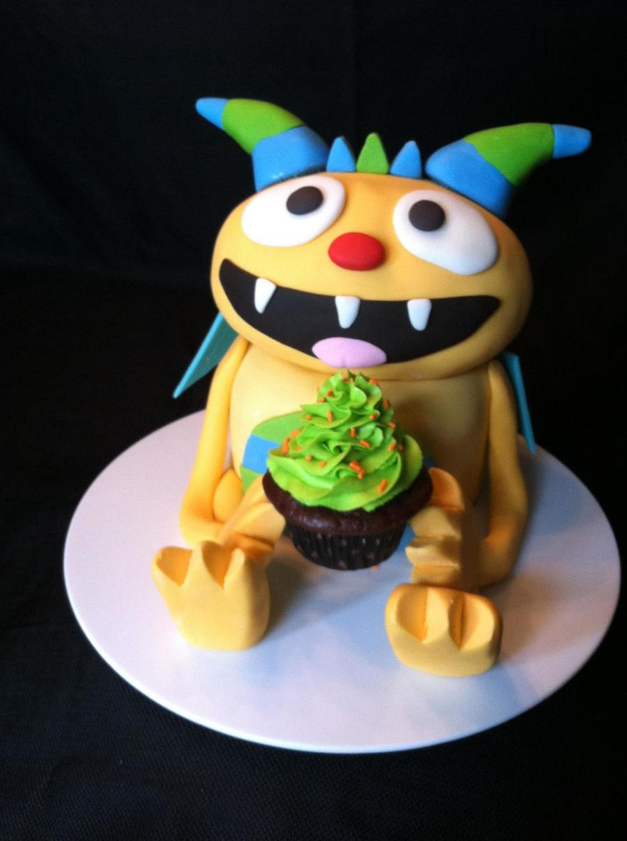 Henry Hugglemonster on Cake Central