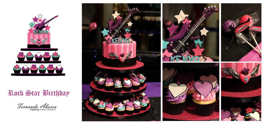 Rock Star Birthday Cake Cakecentral