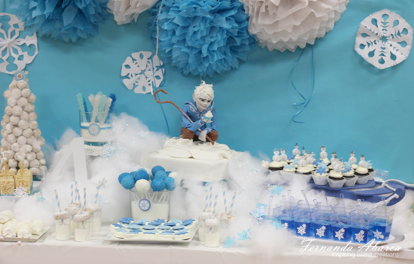 Jack Frost Birthday Cake Cakecentral Com