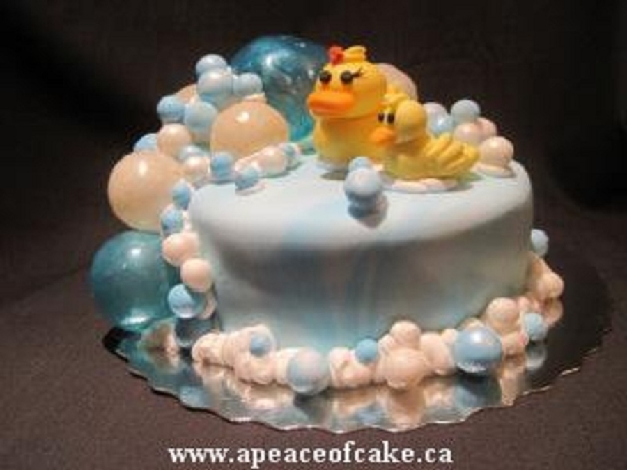 Ducky & Bubbles on Cake Central