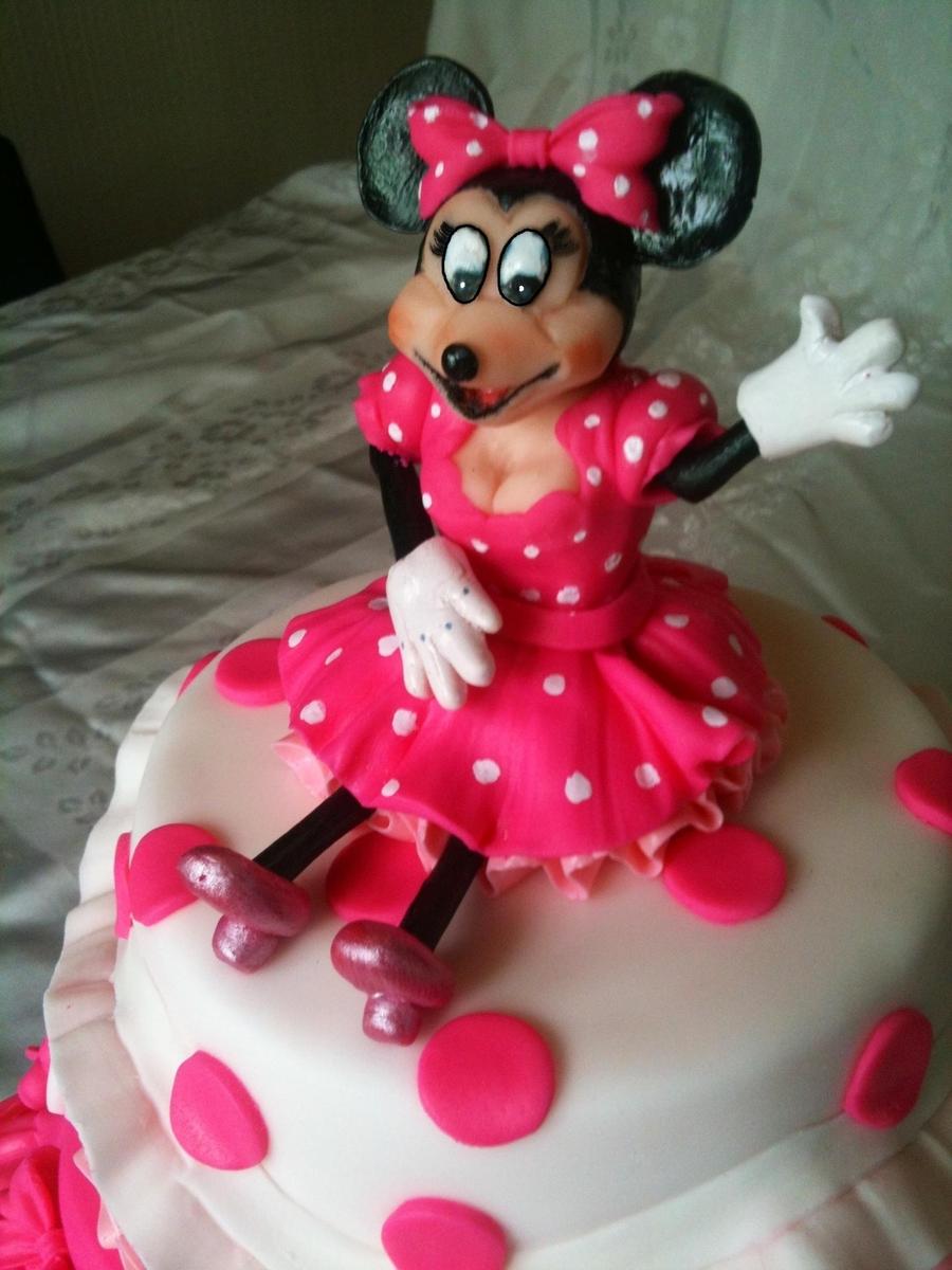 Minnie Mouse Pink Princess Cake Cakecentral Com
