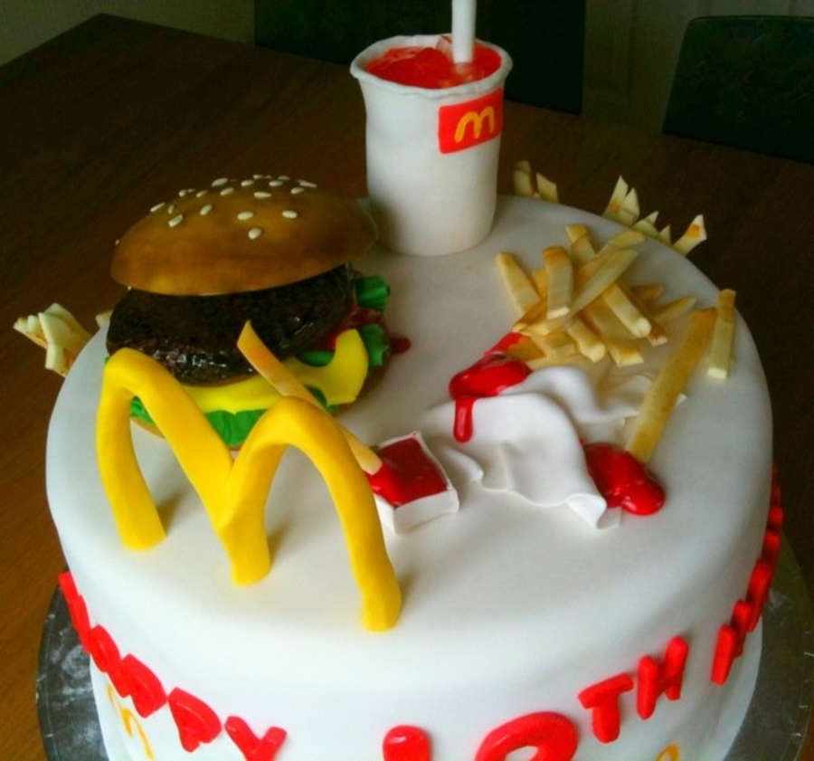 How To Make A Mcdonalds Cake