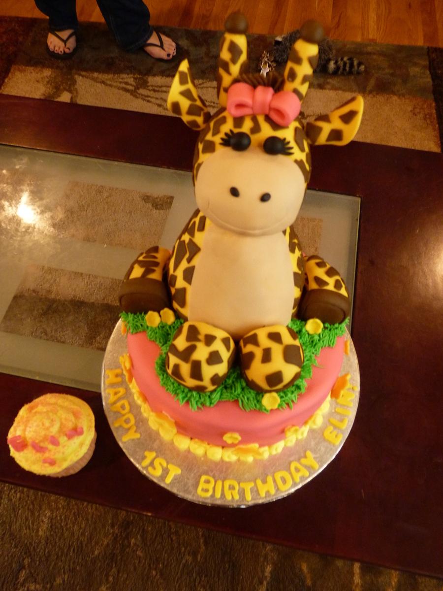 Baby Giraffe Cake Cakecentral Com