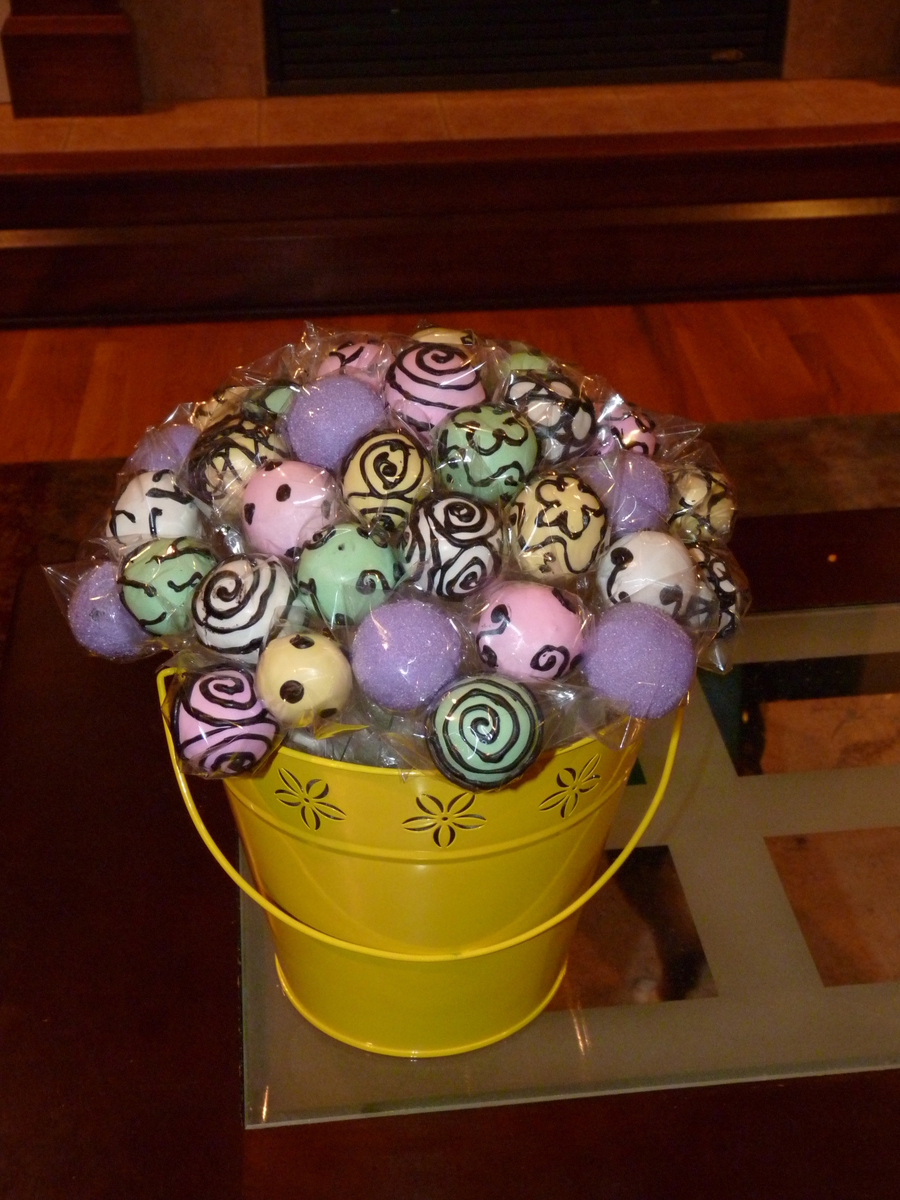 Mothers Day Cake Pops Recipe