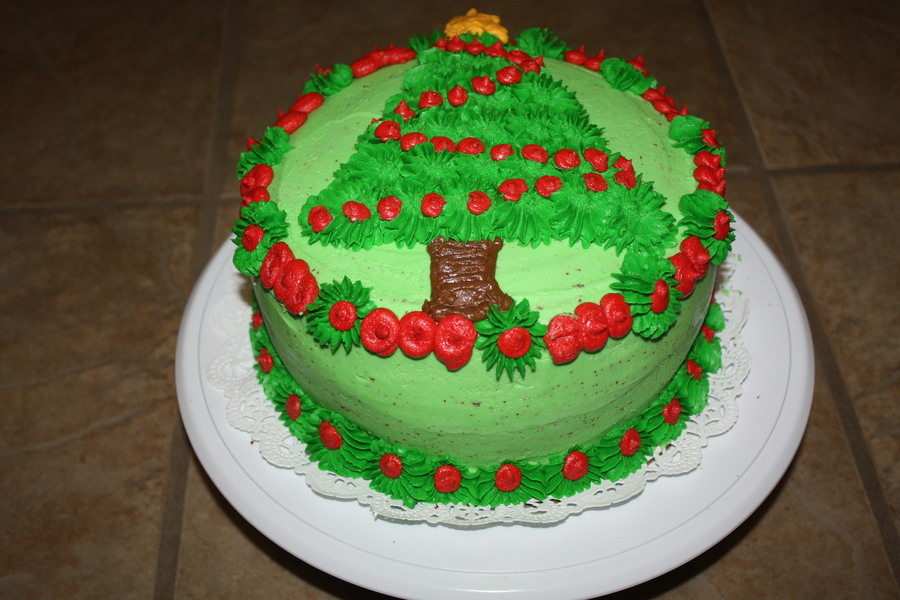 Christmas Tree on Cake Central