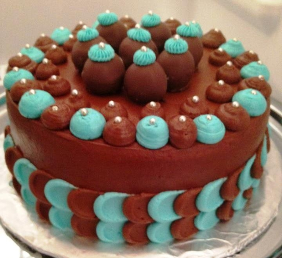 Cake With Cakeballs on Cake Central