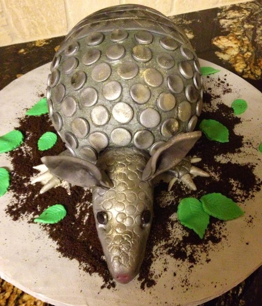 Armadillo Cake Tutorial
