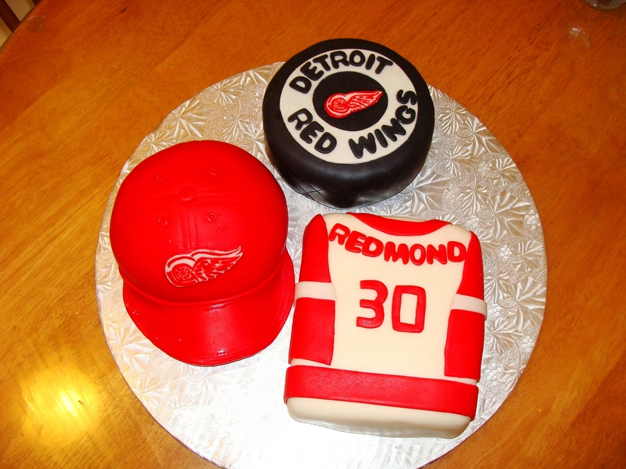 Detroit Red Wings Cake on Cake Central