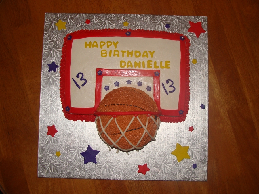 Basketball Net Cake on Cake Central