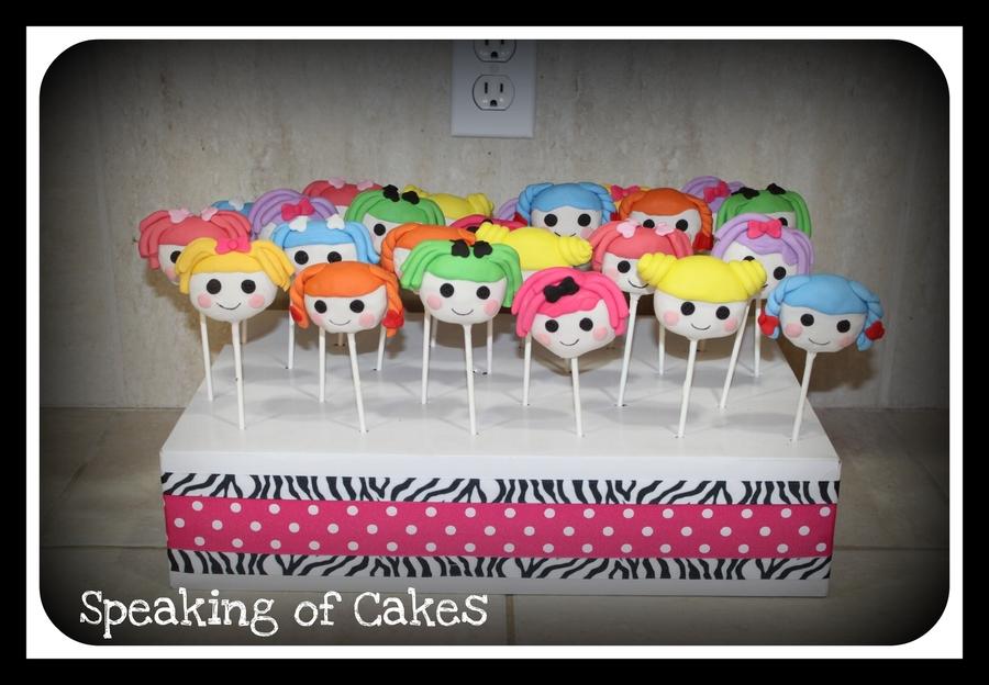 Lalaloopsy Cake Pops Recipe