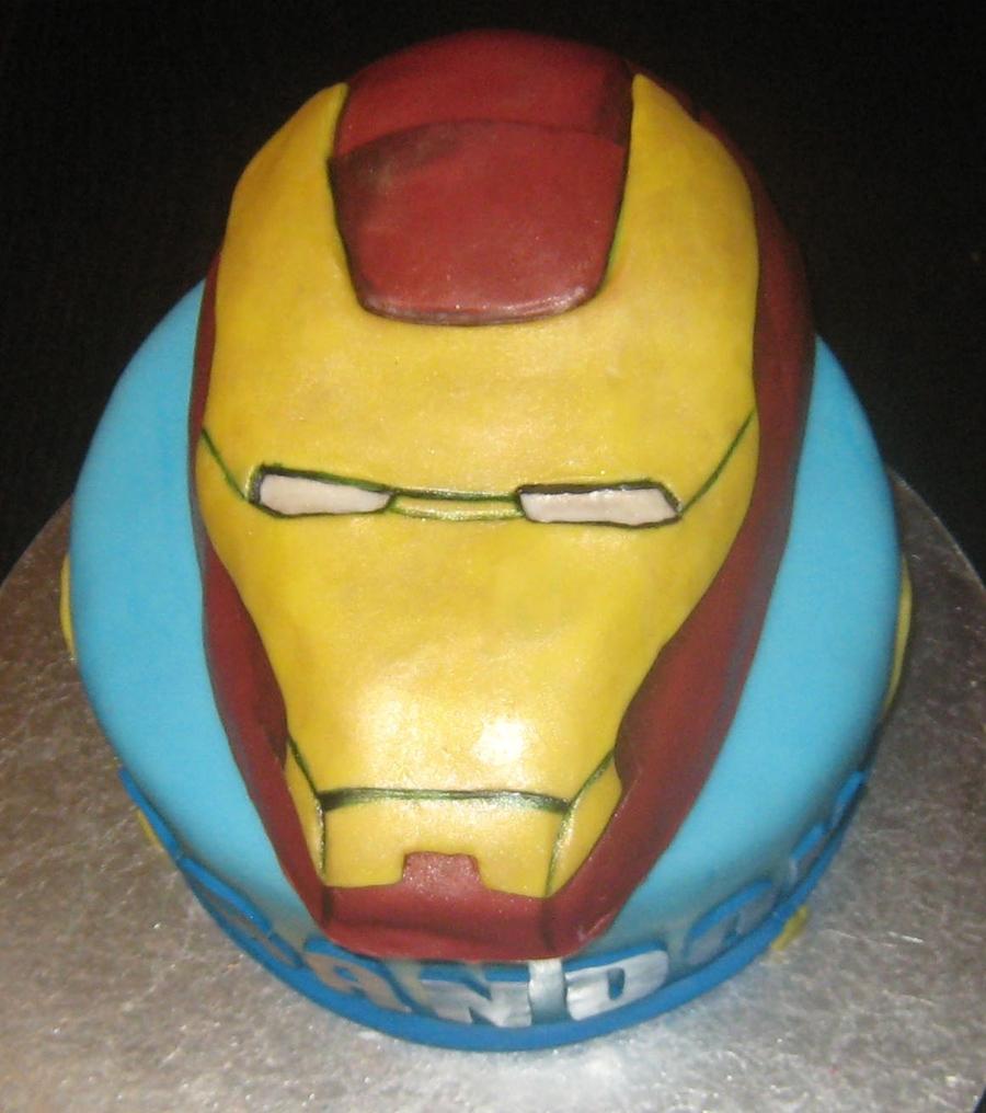 Ironman Cake - CakeCentral.com