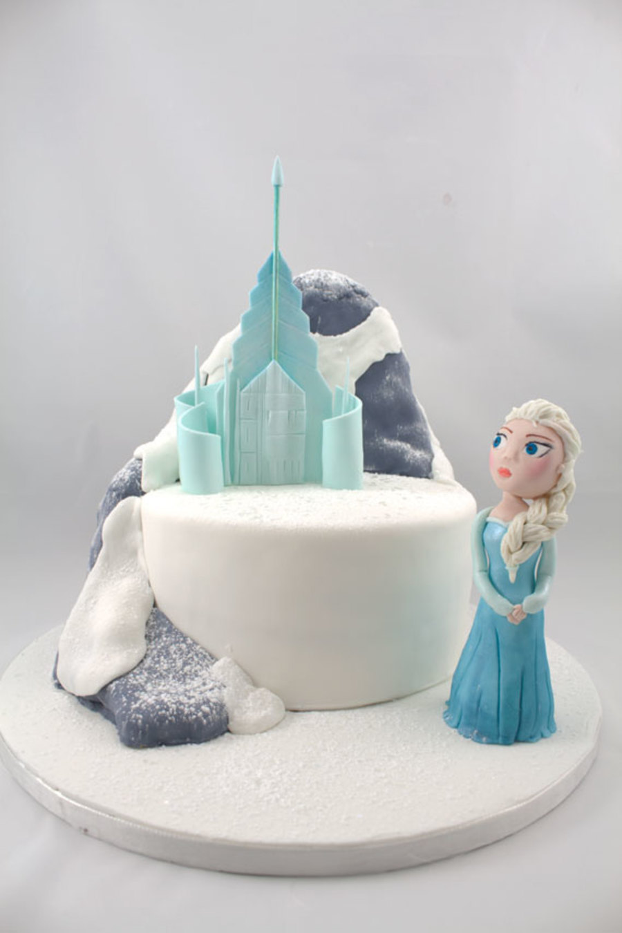 Frozen Elsa And Her Ice Castle Cakecentral Com