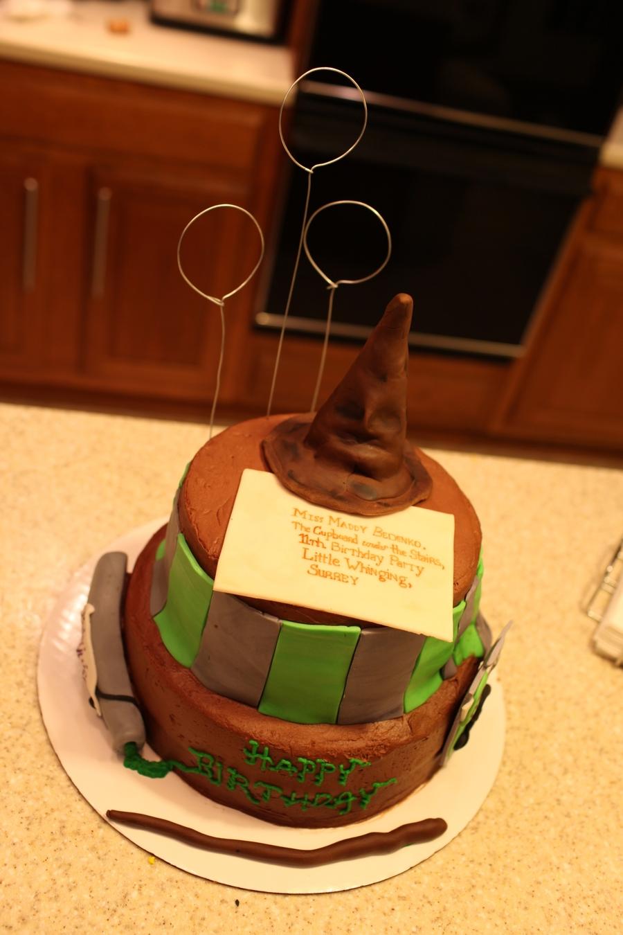 Decoration Cake Harry Potter