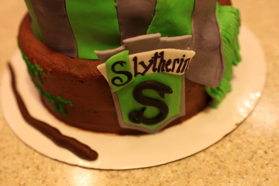 Harry Potter Slytherin Cakecentral Com