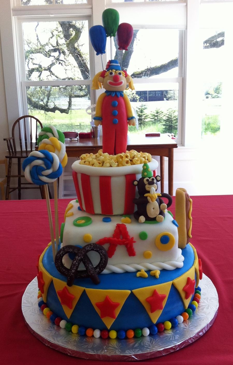 Carnival Cake Cakecentral Com