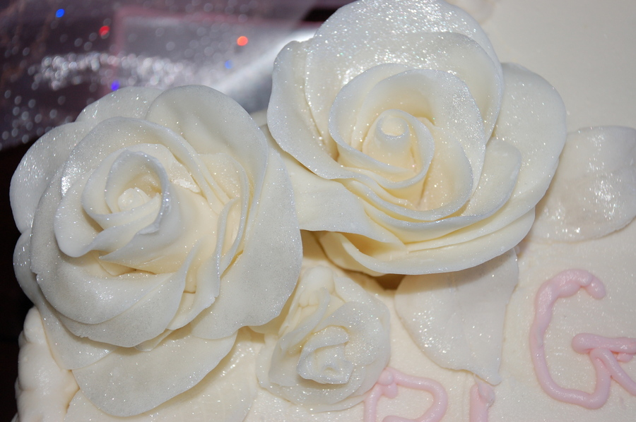 Chocolate Clay Roses on Cake Central