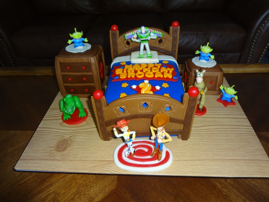 Toy Story Bed Cake Cakecentral Com