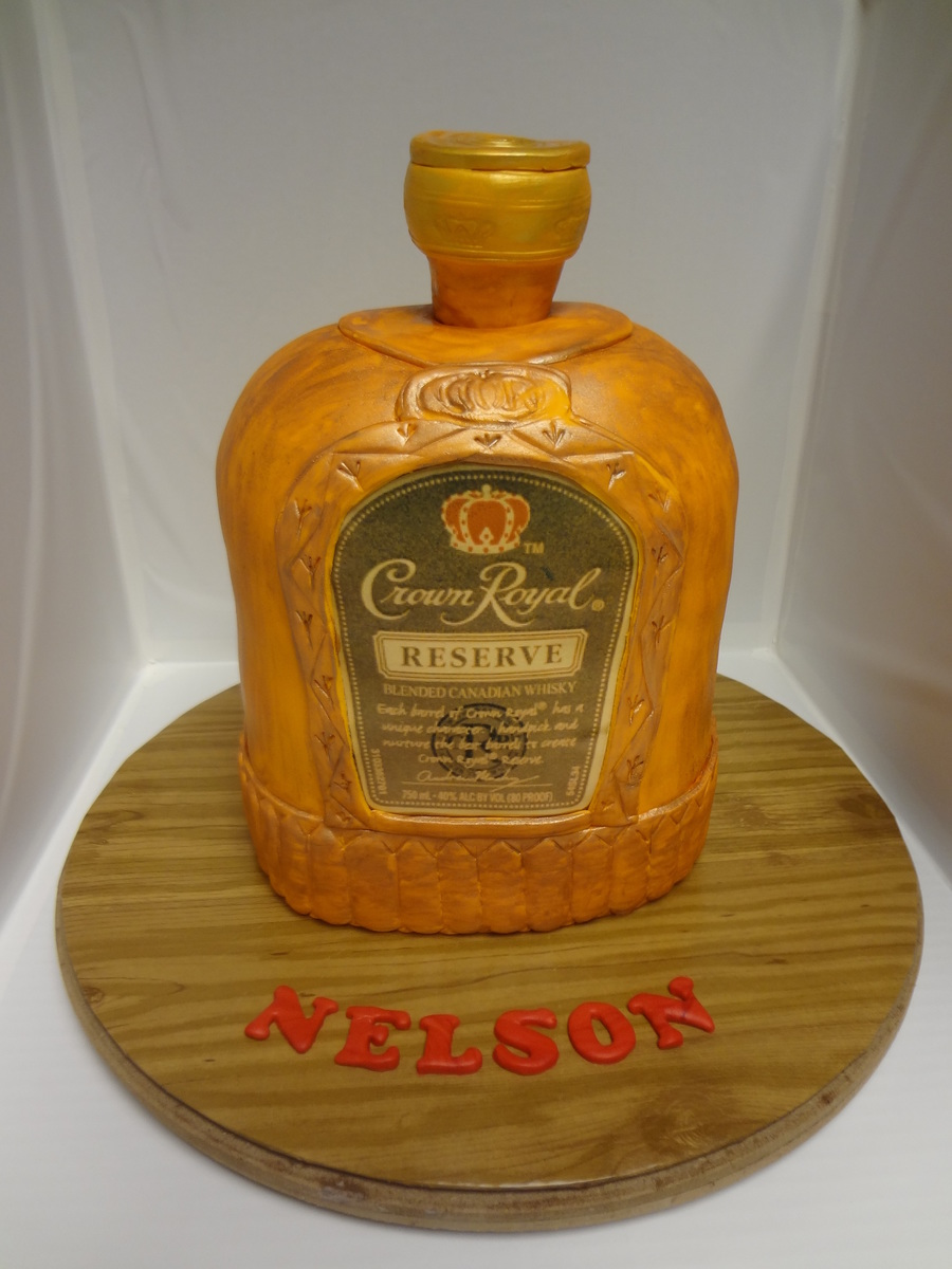 Crown Royal Reserve Cake on Cake Central