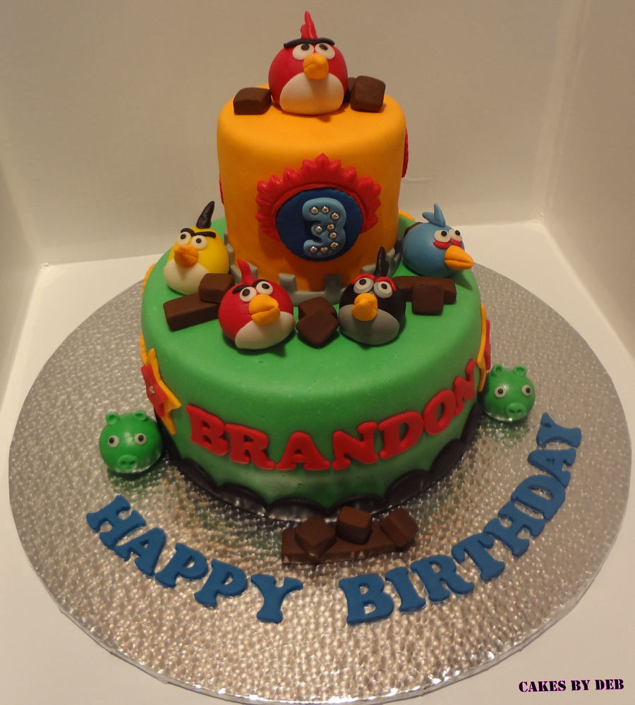 Angry Bird Cake on Cake Central