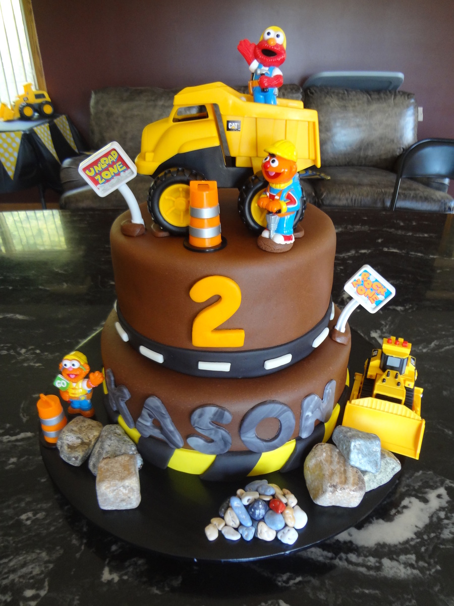 Construction Cake Decorating Ideas