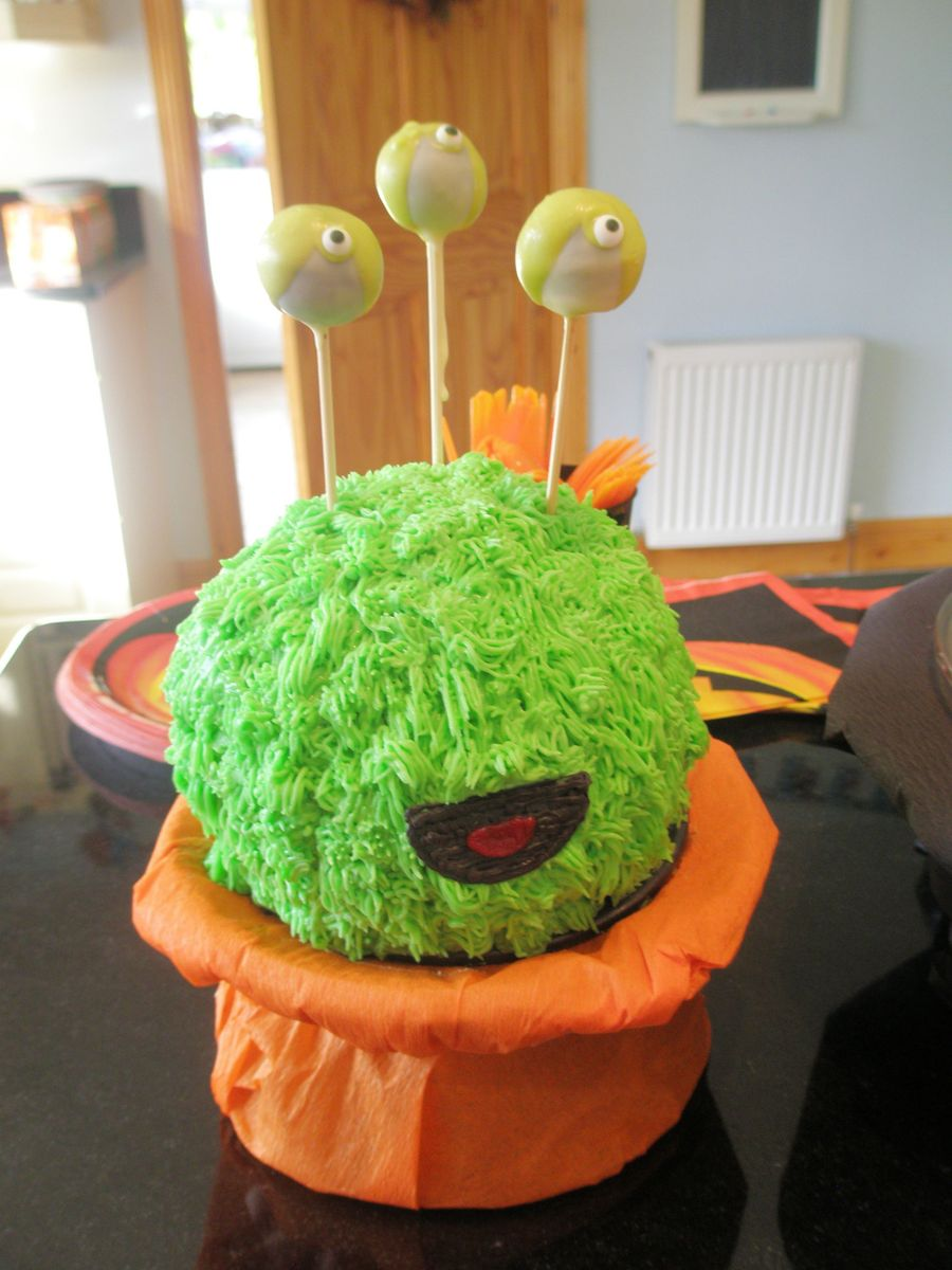 Fuzzy Monster on Cake Central