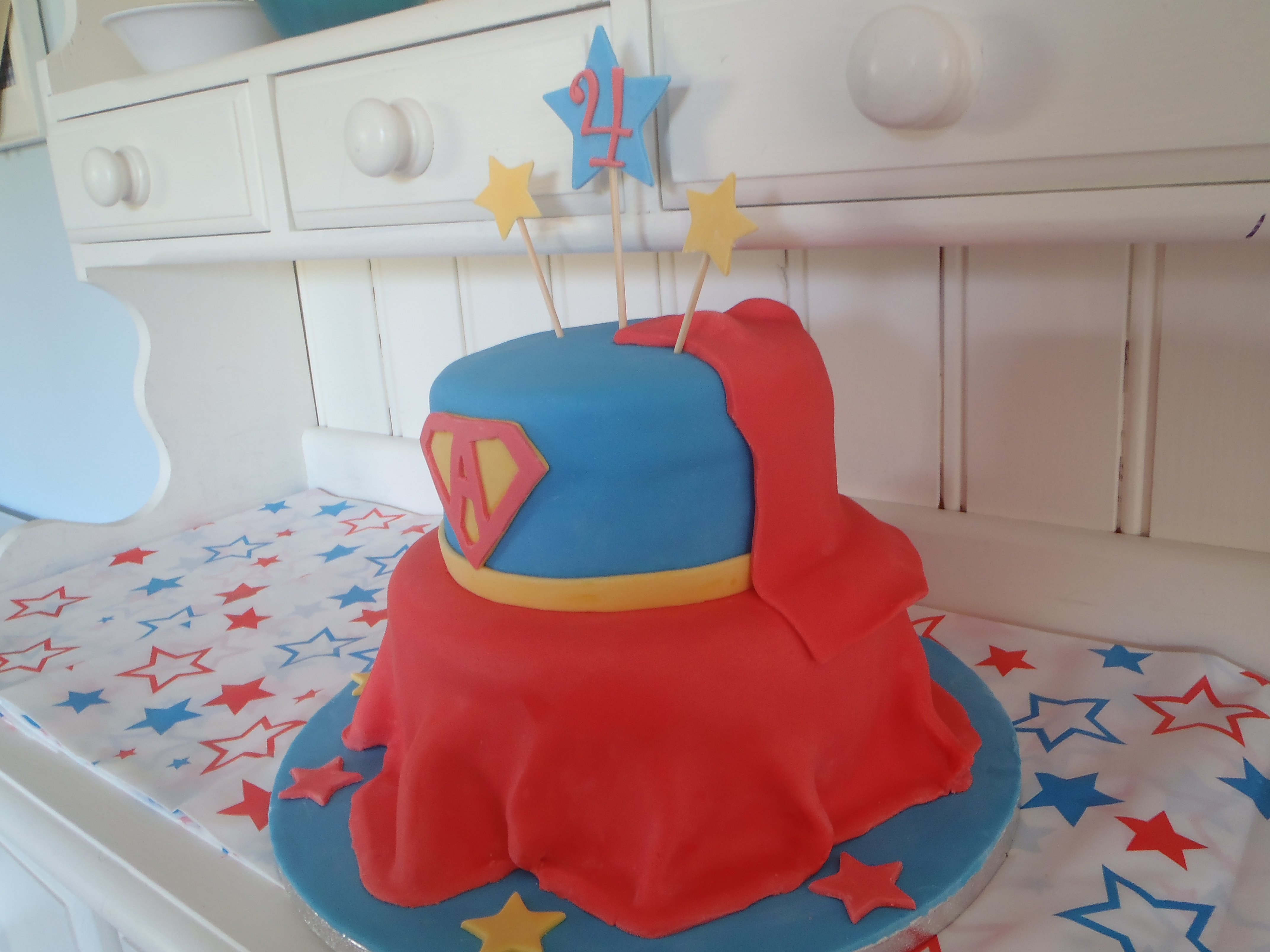 Supergirl Cake CakeCentralcom