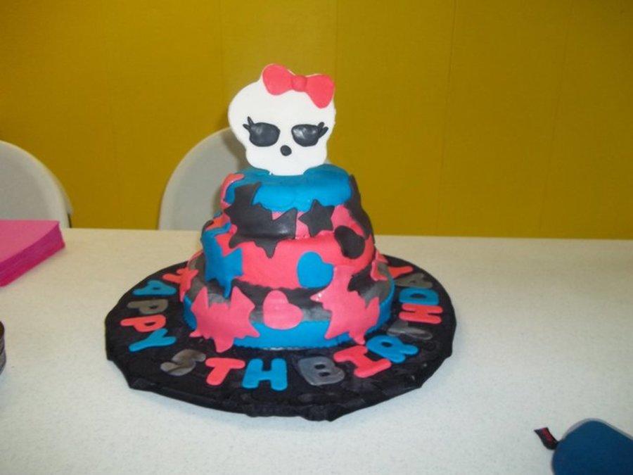 Monster High Birthday Cake Cakecentral