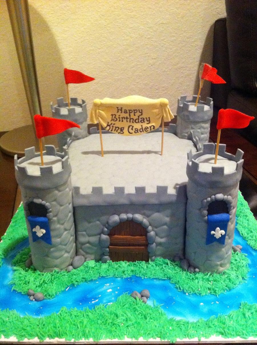 Boy Castle Cake Cakecentral Com