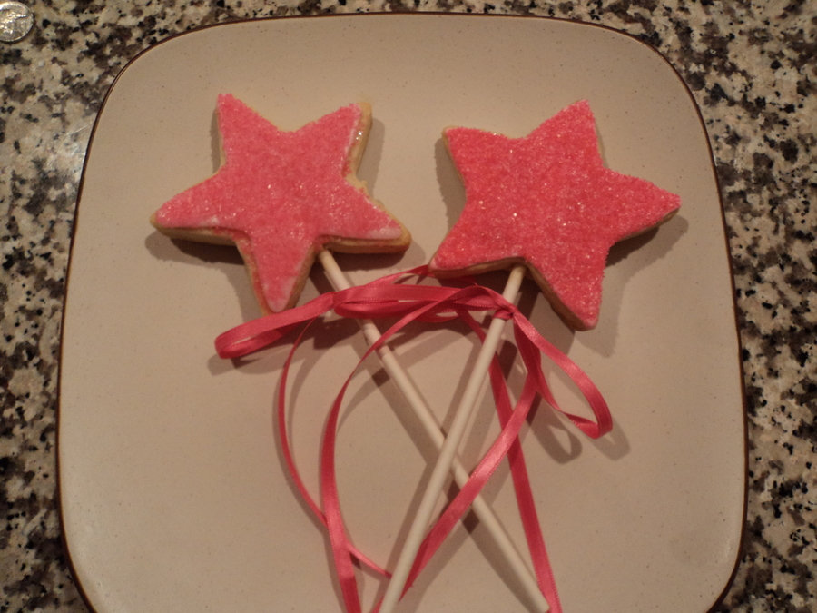 Star Wands on Cake Central