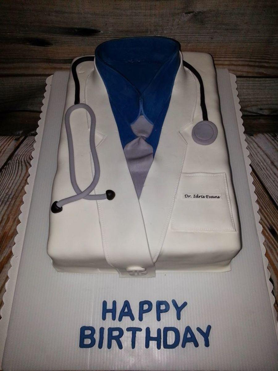 Happy Birthday Dr Evans CakeCentralcom