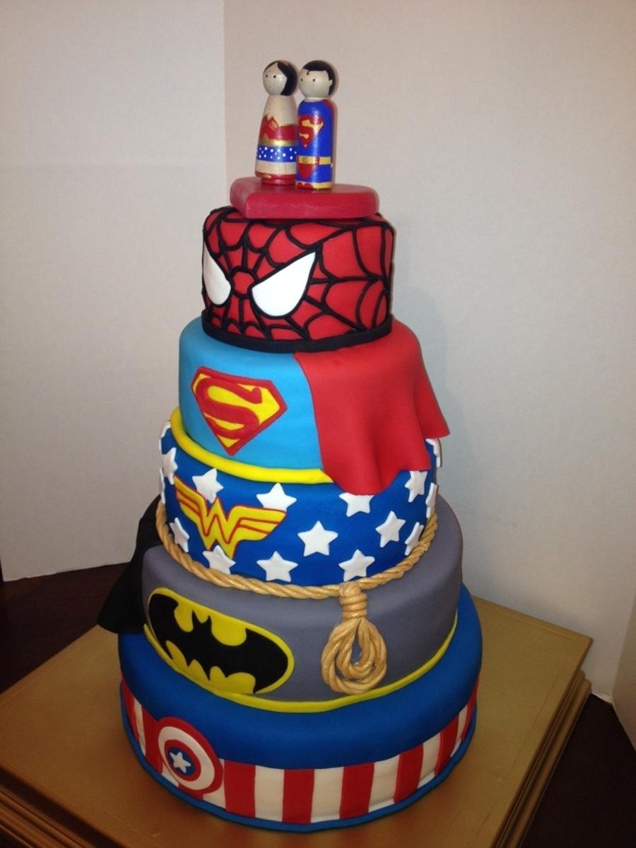 super hero grooms cake. Black Bedroom Furniture Sets. Home Design Ideas