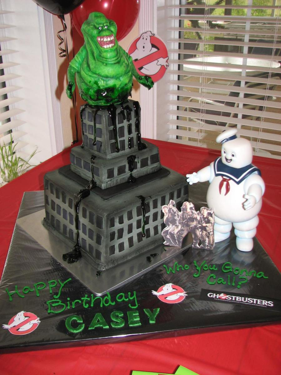 Ghostbuster Cake Ideas