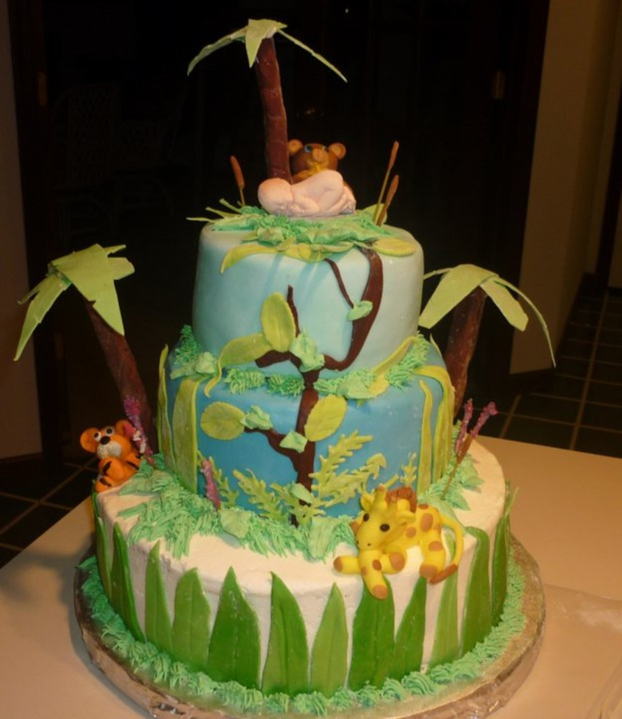 Sweet Magical Jungle Animal Sweets on Cake Central