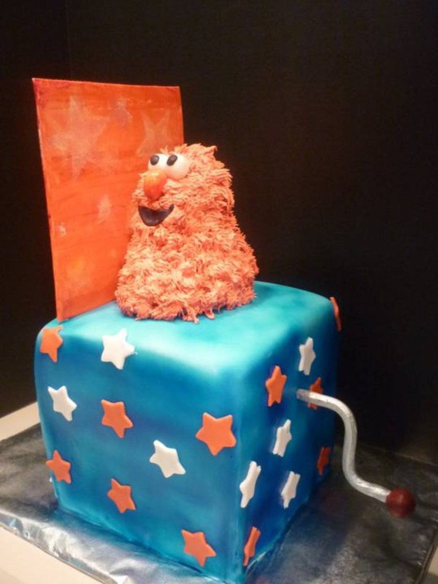 Elmo Jack In The Box Cakecentral Com
