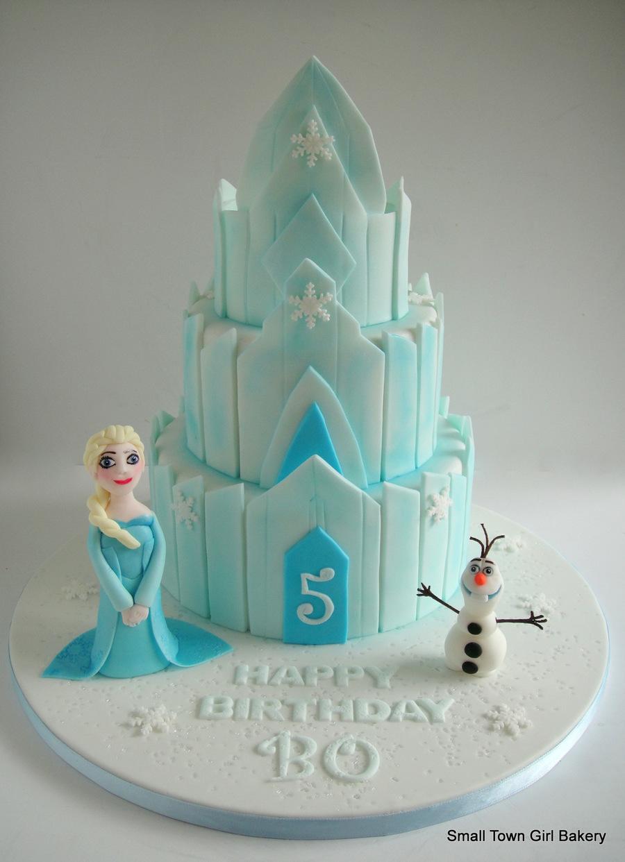 Ice Palace Cake