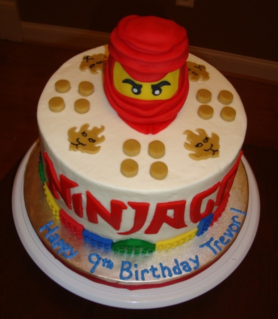 Lego Ninjago Kai Birthday Cake Cakecentral