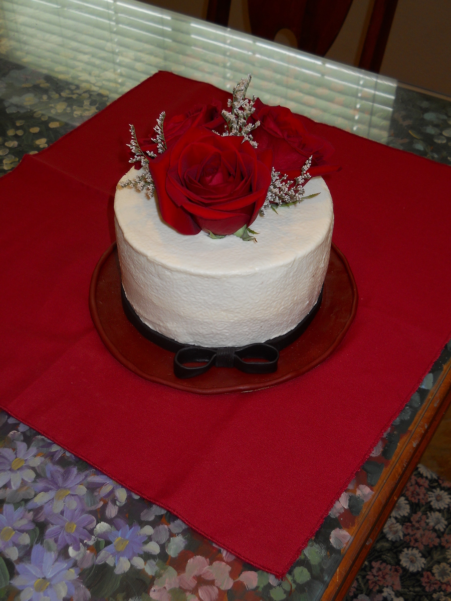 Rose Birthday Cake on Cake Central