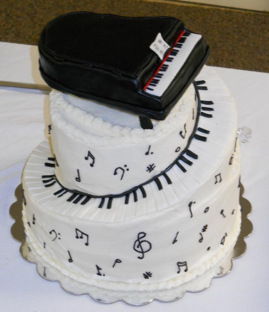 Piano Cake Cakecentral Com