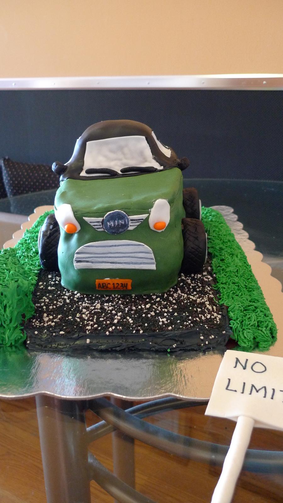 Mini Cooper Birthday Cake Cakecentral Com