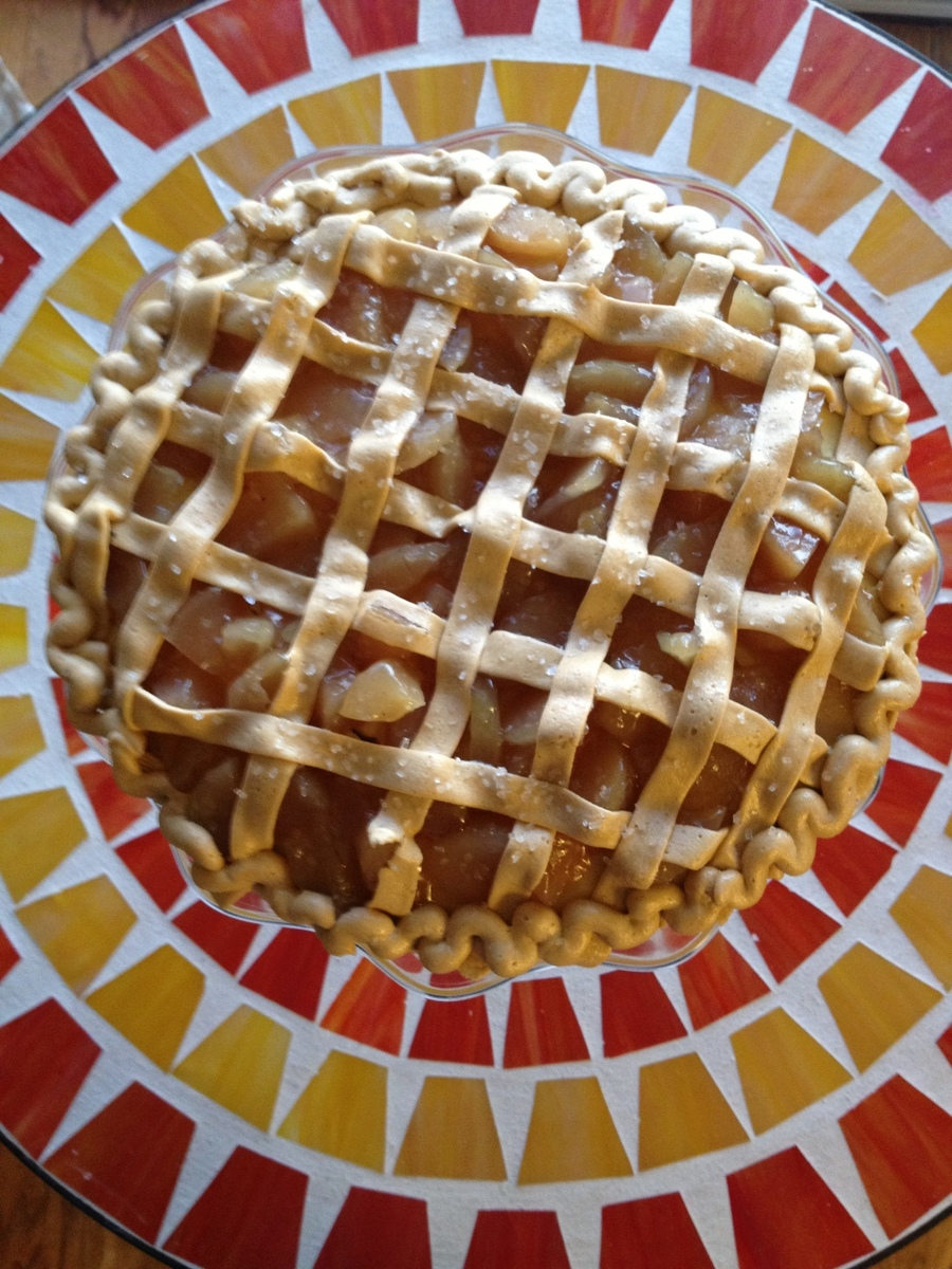 Not Apple Pie It S Cake And Buttercream Cakecentral Com