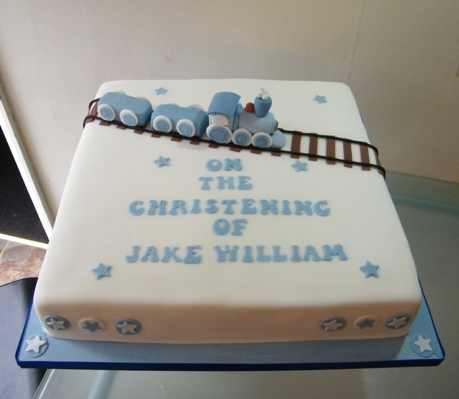 Blue Train3Jpg on Cake Central