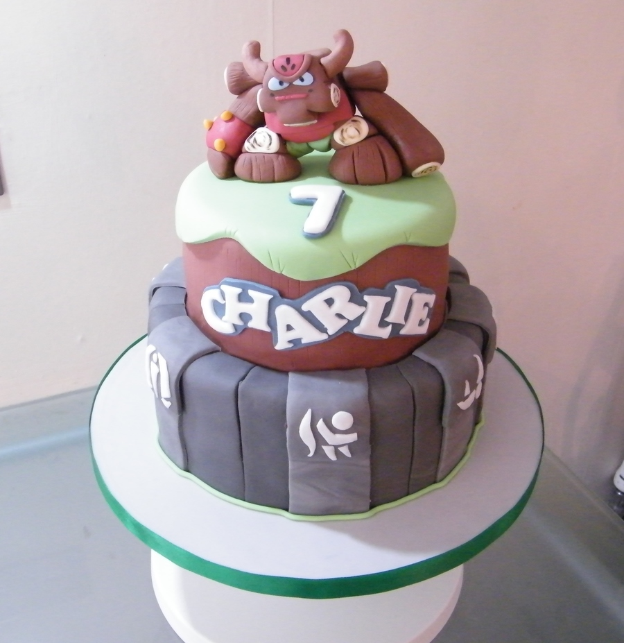 Tree Rex From Skylanders on Cake Central