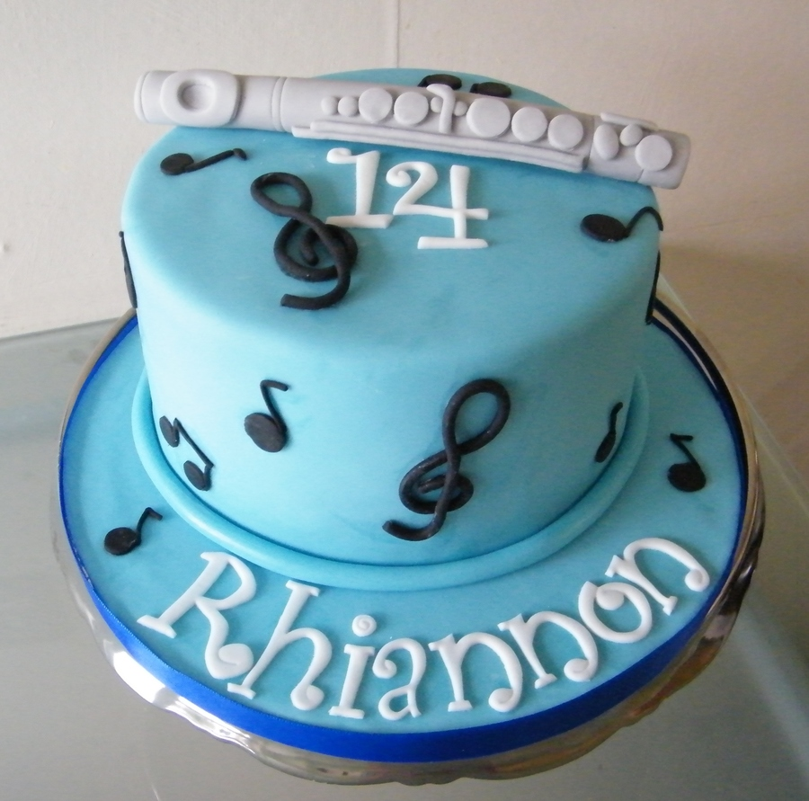 Misic/flute Cake on Cake Central