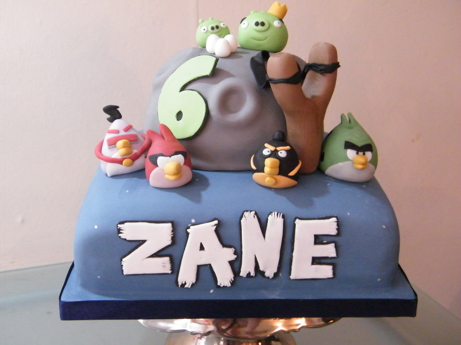Angry Birds Space! on Cake Central