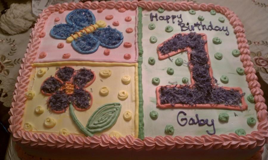 Fine Oneyear Old Birthday Cake Cakecentral Com Funny Birthday Cards Online Alyptdamsfinfo